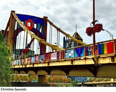 Pittsburgh Andy Warhol bridge
