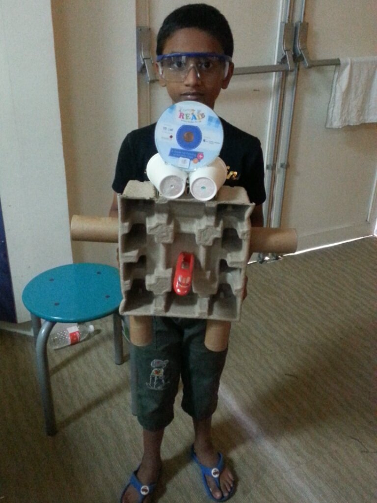 February 2015 maker faire singapore - Cool stuff made from junk ...