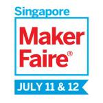 Maker Faire Singapore logo with date