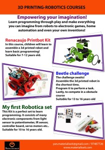 robotics brochure