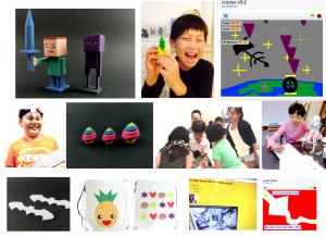 Saturday Kids x MakerFaire_community board
