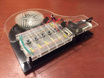 Electronic piano building workshop by IES-SUTD | Maker Faire Singapore